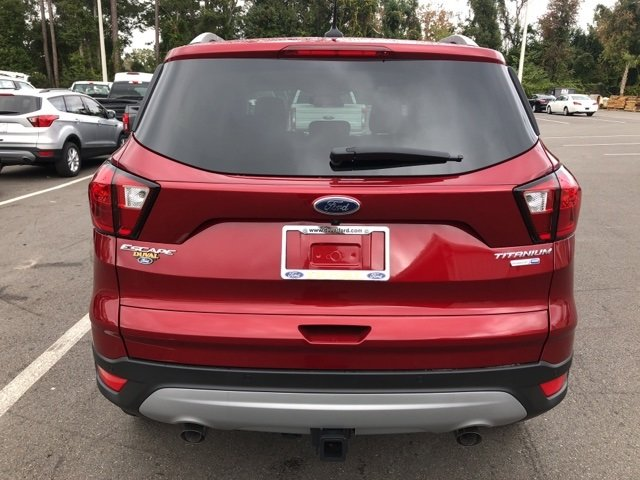 2019 Ford Escape Titanium 4X4 Automatic 4 Door EcoBoost 2.0L I4 GTDi DOHC Turbocharged VCT Engine