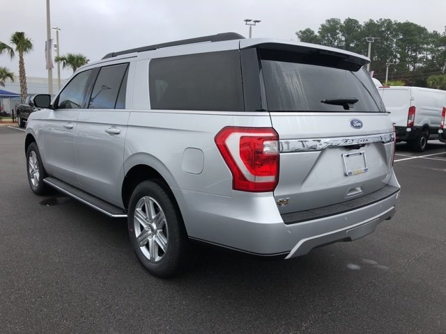 2019 Ingot Silver Metallic Ford Expedition Max XLT Automatic EcoBoost 3.5L V6 GTDi DOHC 24V Twin Turbocharged Engine 4 Door SUV