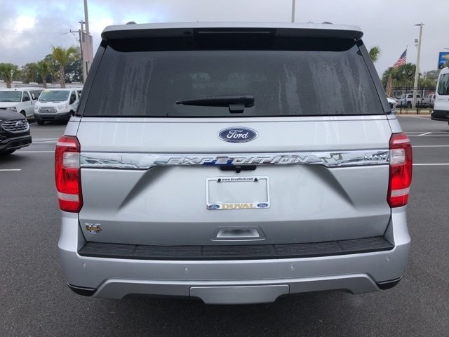 2019 Ingot Silver Metallic Ford Expedition Max XLT SUV EcoBoost 3.5L V6 GTDi DOHC 24V Twin Turbocharged Engine 4 Door RWD Automatic