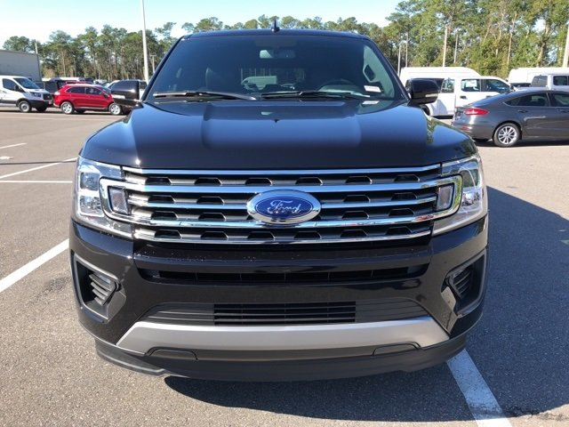 2019 Agate Black Ford Expedition Max XLT RWD EcoBoost 3.5L V6 GTDi DOHC 24V Twin Turbocharged Engine Automatic 4 Door