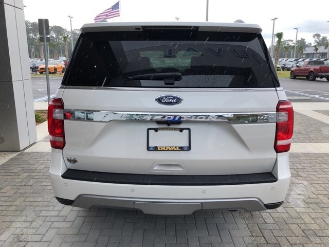 2018 Ford Expedition Max XLT EcoBoost 3.5L V6 GTDi DOHC 24V Twin Turbocharged Engine 4 Door Automatic