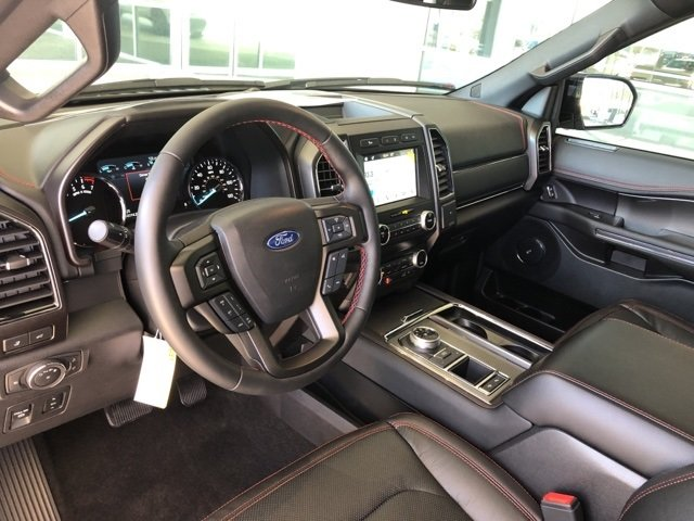 2019 White Metallic Ford Expedition Max Limited SUV RWD Automatic