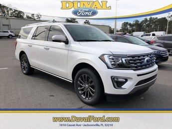 2019 White Metallic Ford Expedition Max Limited RWD Automatic 4 Door