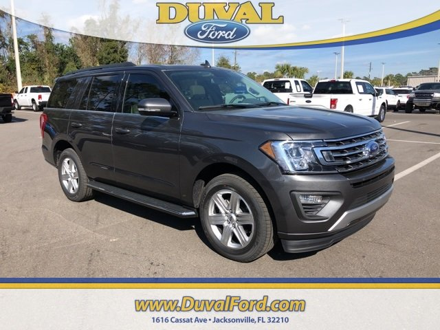 2019 Magnetic Metallic Ford Expedition XLT Automatic EcoBoost 3.5L V6 GTDi DOHC 24V Twin Turbocharged Engine 4 Door RWD SUV