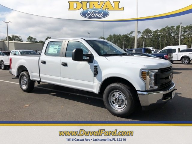 2018 Oxford White Ford Super Duty F-250 SRW XL Truck V8 Engine RWD Automatic 4 Door