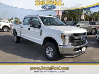 2019 Ford Super Duty F-250 SRW XL 4 Door 4X4 Automatic 6.2L SOHC Engine