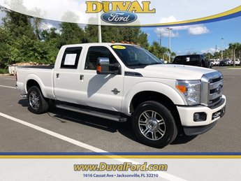2016 Ford Super Duty F-250 SRW Platinum Truck Power Stroke 6.7L V8 DI 32V OHV Turbodiesel Engine Automatic 4 Door