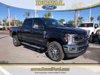 2019 Agate Black Metallic Ford Super Duty F-250 SRW Lariat 4 Door Automatic Truck