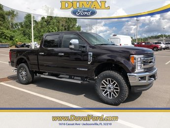 2018 Magma Red Metallic Ford Super Duty F-250 SRW Lariat Automatic Power Stroke 6.7L V8 DI 32V OHV Turbodiesel Engine 4 Door 4X4 Truck