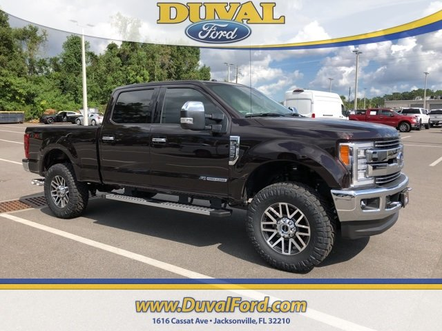 2018 Magma Red Metallic Ford Super Duty F-250 SRW Lariat Truck 4X4 Power Stroke 6.7L V8 DI 32V OHV Turbodiesel Engine 4 Door