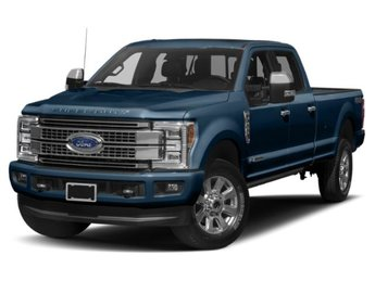 2019 Ford Super Duty F-250 SRW Platinum Truck Power Stroke 6.7L V8 DI 32V OHV Turbodiesel Engine 4 Door Automatic