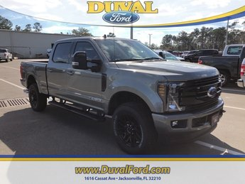2019 Silver Spruce Ford Super Duty F-250 SRW Lariat 4X4 Truck Automatic 4 Door