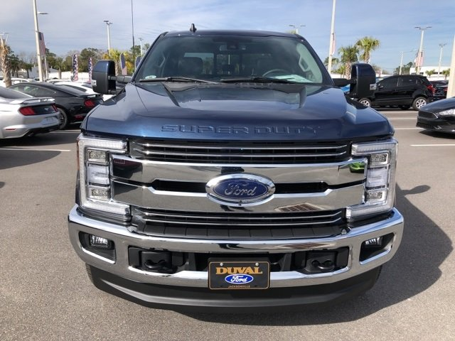 2019 Blue Jeans Metallic Ford Super Duty F-250 SRW Lariat 4X4 Automatic 4 Door