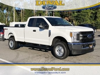 2019 Oxford White Ford Super Duty F-250 SRW XL Automatic 4 Door Truck 6.2L SOHC Engine 4X4