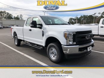 2019 Oxford White Ford Super Duty F-250 SRW XL Automatic 4 Door 4X4 Truck