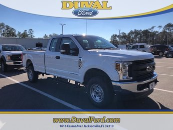2019 Oxford White Ford Super Duty F-250 SRW XL 4X4 Truck 4 Door