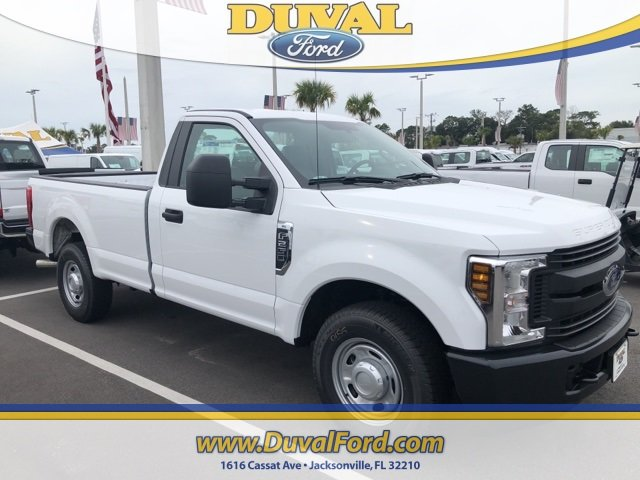2019 Oxford White Ford Super Duty F-250 SRW XL Truck 2 Door Automatic 6.2L SOHC Engine RWD