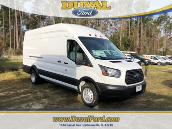 2019 Oxford White Ford Transit-350 Base Automatic 3 Door Van