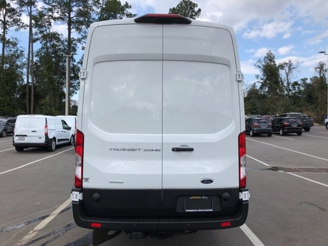 2019 Oxford White Ford Transit-350 Base RWD EcoBoost 3.5L V6 GTDi DOHC 24V Twin Turbocharged Engine Van 3 Door Automatic