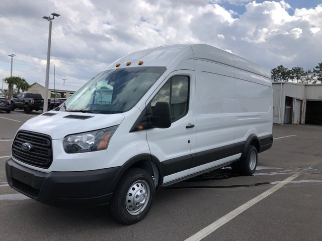 2019 Oxford White Ford Transit-350 Base 3 Door Van Automatic