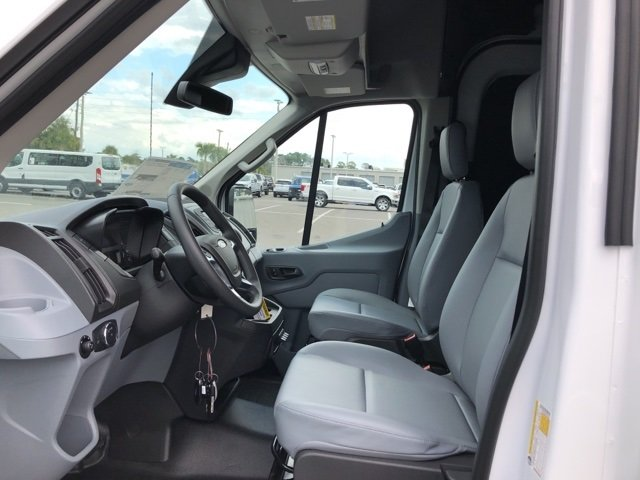 2019 Oxford White Ford Transit-350 Base 3 Door Automatic Van RWD EcoBoost 3.5L V6 GTDi DOHC 24V Twin Turbocharged Engine