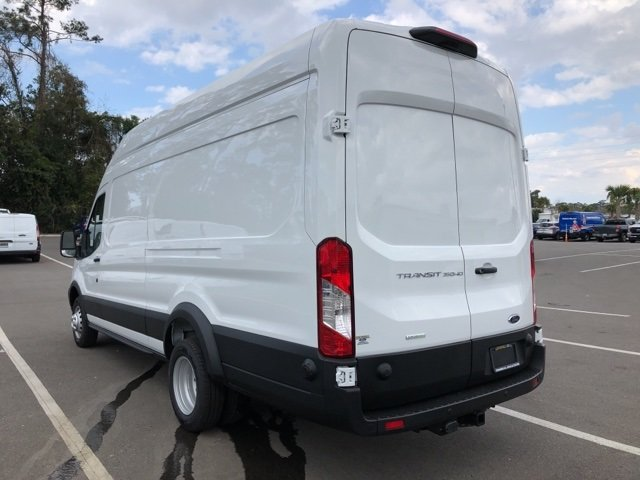 2019 Oxford White Ford Transit-350 Base 3 Door Van EcoBoost 3.5L V6 GTDi DOHC 24V Twin Turbocharged Engine Automatic