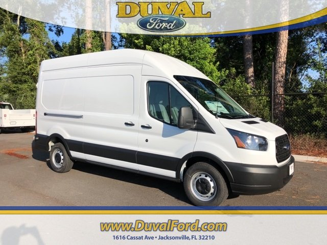 2019 Oxford White Ford Transit-350 Base 3 Door EcoBoost 3.5L V6 GTDi DOHC 24V Twin Turbocharged Engine Automatic