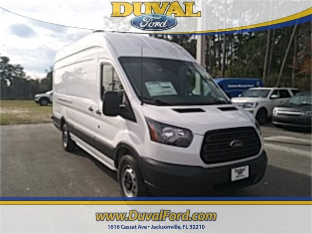 2018 Oxford White Ford Transit-350 Base Automatic EcoBoost 3.5L V6 GTDi DOHC 24V Twin Turbocharged Engine Van