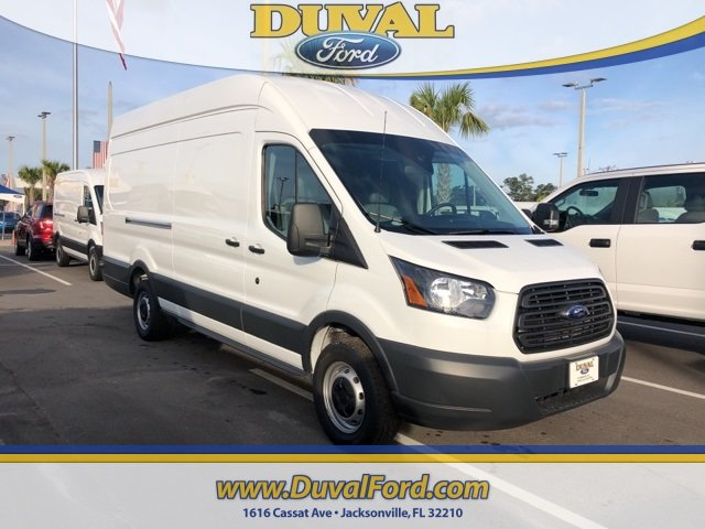 2018 Oxford White Ford Transit-350 Base EcoBoost 3.5L V6 GTDi DOHC 24V Twin Turbocharged Engine Van Automatic 3 Door