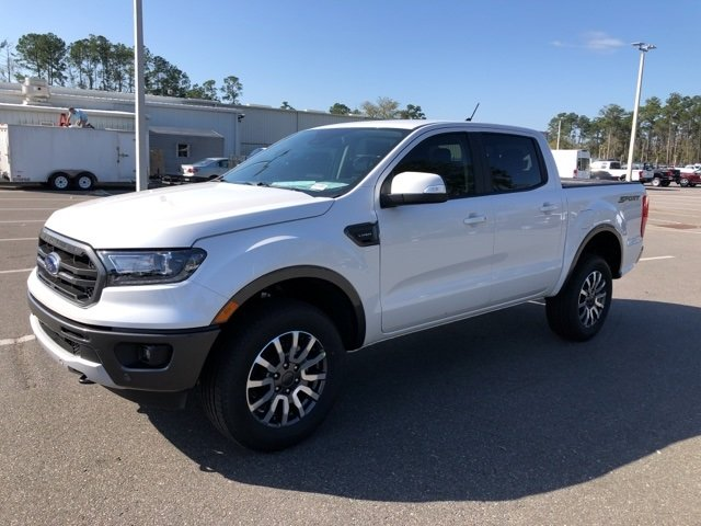 2019 Ford Ranger Lariat EcoBoost 2.3L I4 GTDi DOHC Turbocharged VCT Engine RWD Truck Automatic