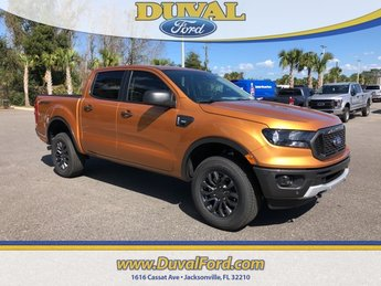 2019 Saber Metallic Ford Ranger XLT Automatic EcoBoost 2.3L I4 GTDi DOHC Turbocharged VCT Engine 4 Door RWD Truck
