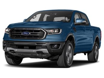2019 Lightning Blue Metallic Ford Ranger XLT Truck Automatic 4 Door EcoBoost 2.3L I4 GTDi DOHC Turbocharged VCT Engine 4X4