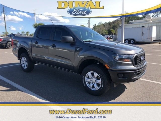 2019 Magnetic Metallic Ford Ranger XL Truck EcoBoost 2.3L I4 GTDi DOHC Turbocharged VCT Engine Automatic 4X4