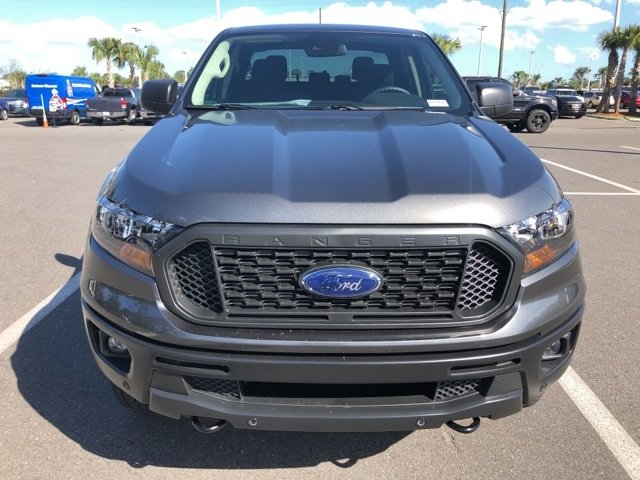 2019 Magnetic Metallic Ford Ranger XL 4 Door EcoBoost 2.3L I4 GTDi DOHC Turbocharged VCT Engine Truck 4X4