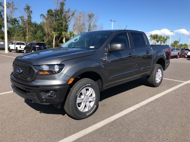 2019 Magnetic Metallic Ford Ranger XL Truck 4 Door Automatic EcoBoost 2.3L I4 GTDi DOHC Turbocharged VCT Engine 4X4