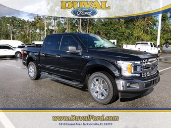 2019 Agate Black Ford F-150 XLT 4 Door EcoBoost 3.5L V6 GTDi DOHC 24V Twin Turbocharged Engine RWD Automatic