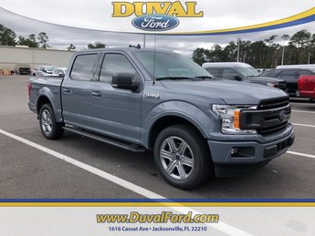 2019 Gray Metallic Ford F-150 XLT RWD EcoBoost 3.5L V6 GTDi DOHC 24V Twin Turbocharged Engine 4 Door Truck Automatic
