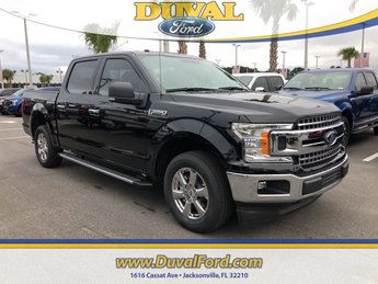 2018 Shadow Black Ford F-150 XLT 4 Door Automatic 5.0L V8 Ti-VCT Engine Truck RWD