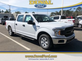 2019 Oxford White Ford F-150 XL Truck 4 Door 5.0L V8 Ti-VCT Engine RWD