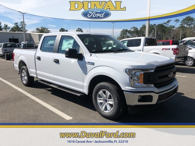 2019 Oxford White Ford F-150 XL Truck RWD Automatic 4 Door 5.0L V8 Ti-VCT Engine