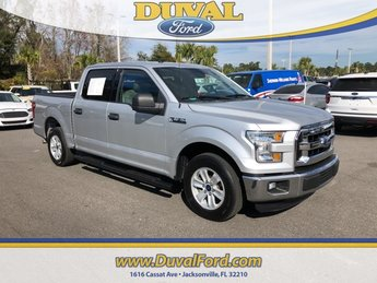 2016 Ingot Silver Metallic Ford F-150 RWD Truck 5.0L V8 FFV Engine 4 Door Automatic