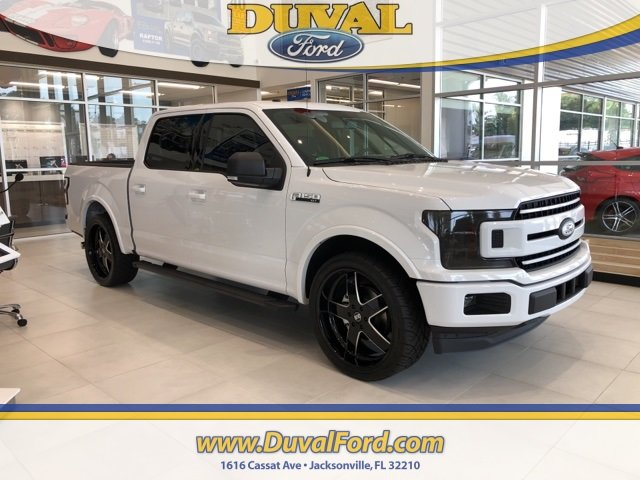 2018 Oxford White Ford F-150 XLT EcoBoost 3.5L V6 GTDi DOHC 24V Twin Turbocharged Engine Automatic RWD 4 Door Truck
