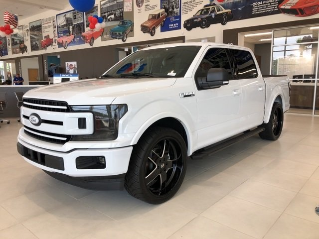 2018 Ford F-150 XLT RWD 4 Door EcoBoost 3.5L V6 GTDi DOHC 24V Twin Turbocharged Engine Truck Automatic