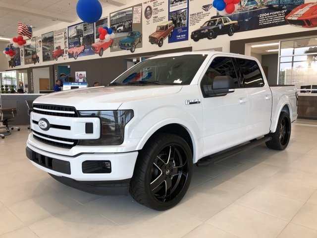 2018 Oxford White Ford F-150 XLT Automatic Truck RWD 4 Door EcoBoost 3.5L V6 GTDi DOHC 24V Twin Turbocharged Engine