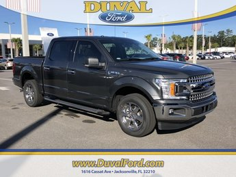 2018 Magnetic Metallic Ford F-150 XLT 4 Door Truck Automatic EcoBoost 3.5L V6 GTDi DOHC 24V Twin Turbocharged Engine