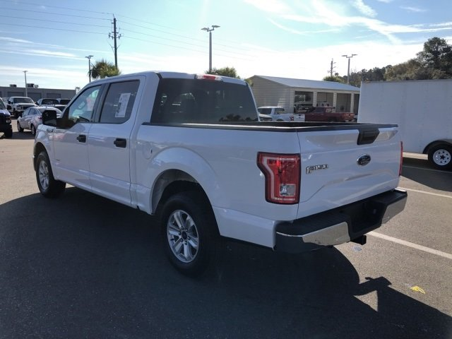 2015 Oxford White Ford F-150 EcoBoost 3.5L V6 GTDi DOHC 24V Twin Turbocharged Engine Truck RWD 4 Door