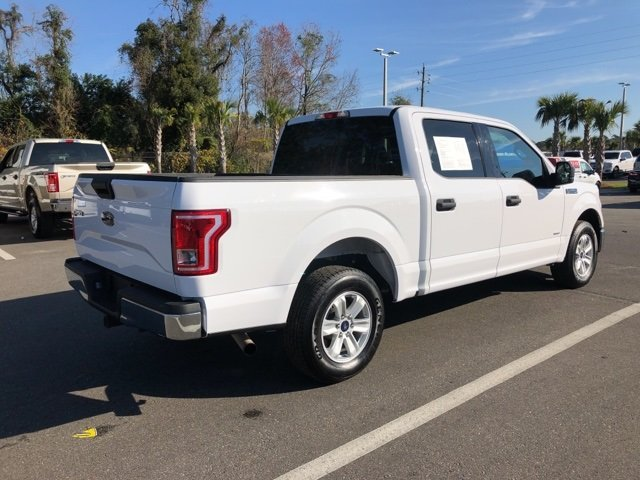 2015 Oxford White Ford F-150 4 Door Truck RWD Automatic
