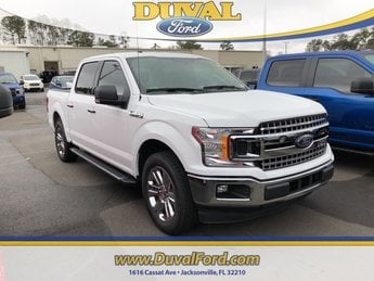 2018 Oxford White Ford F-150 XLT RWD Automatic 4 Door EcoBoost 3.5L V6 GTDi DOHC 24V Twin Turbocharged Engine