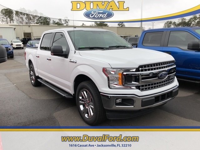 2018 Oxford White Ford F-150 XLT RWD Truck Automatic 4 Door EcoBoost 3.5L V6 GTDi DOHC 24V Twin Turbocharged Engine