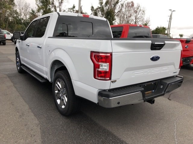 2018 Oxford White Ford F-150 XLT EcoBoost 3.5L V6 GTDi DOHC 24V Twin Turbocharged Engine 4 Door Automatic